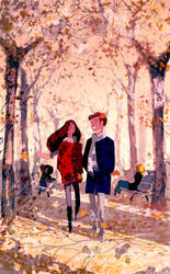 Just a like a walk in the park. by PascalCampion