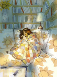 couch by PascalCampion