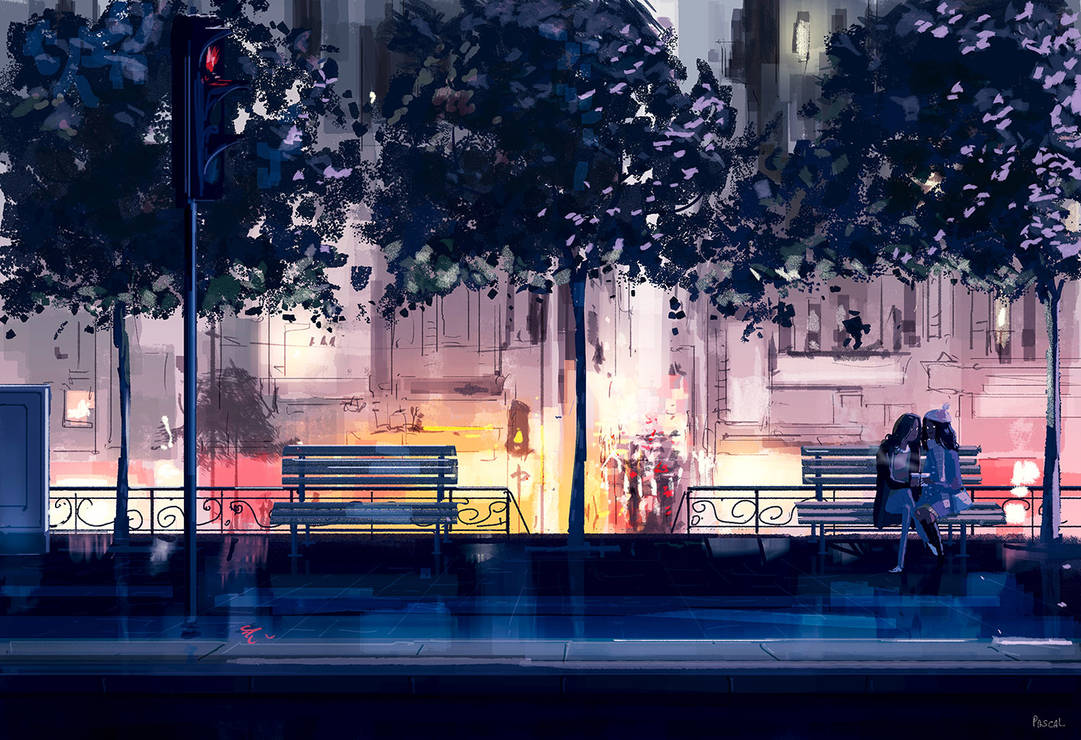 Our own little world. by PascalCampion
