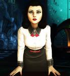 BioShock Infinite - Elizabeth Portrait 1 by WhrAreMyDragons