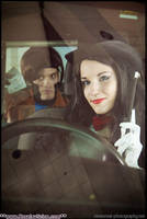 Zatanna caught a Gambit by The-Cosplay-Scion