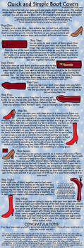 Stretch Boot Cover Tutorial by The-Cosplay-Scion
