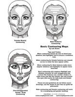 Basic Makeup Contouring by The-Cosplay-Scion