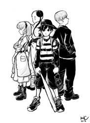 PK Sketch by Bonus-kun