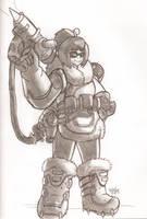 Overwatch Mei by HowSplendid