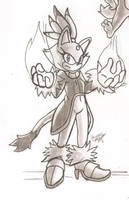 Blaze The Cat by HowSplendid