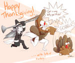 A Caroline and Kibbles Thanksgiving by HowSplendid
