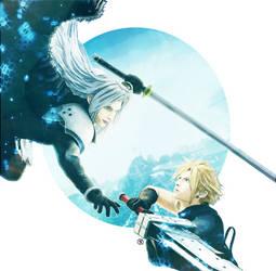 Sephiroth X Cloud by MateDan