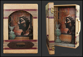 Lingua Latina...assemblage by hummbuzz