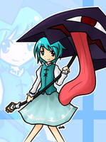 The Cheery Forgotten Umbrella by Reisetyun