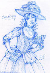 Serendipity ala French Renaissance by ladyofdragons