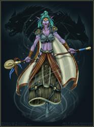 Lilena ++ WoW Druid by ladyofdragons