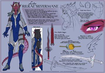 Rilrae Character Design by ladyofdragons