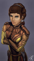 Bastila Shan by DarthPonda