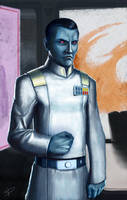 Star Wars - Admiral Thrawn by DarthPonda