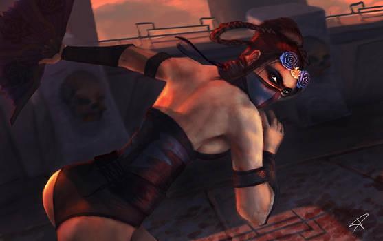 Mortal Kombat - Kitana by DarthPonda