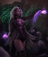 Mortal Kombat - Outworld invasion by DarthPonda