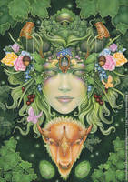 Queen of Earth by ravynnephelan