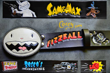 Sam and Max Belt by CoreyChiev