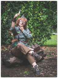 Pidge Holt - Steampunk version by mory-chan