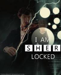 I am SHERlocked  by TheRavenArt