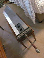 Final Fantasy VII Remake Buster Sword MK1 progress by potsmack