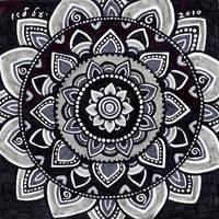 Grey Mandala by yael360