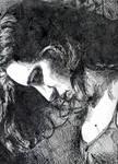 inked self portrait by yael360