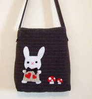 white rabbit bag by yael360