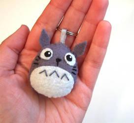 Totoro in my hand by yael360
