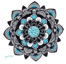 Power Mandala by yael360