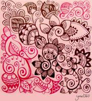 A big pink mess by yael360