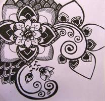 Purple ink creation by yael360