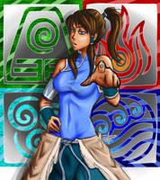 Avatar Korra by ELEPHUNTYTEST