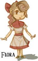 Flora- Wind Waker Style by otakubox25