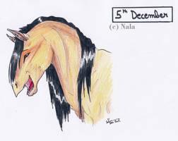 December 5th - Komet by Ehnala