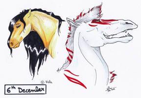 December 6th - Valtera and Kyoki by Ehnala
