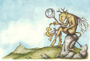 The Shaman's Child by WildWoodArtsCo