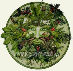 The Green Man by WildWoodArtsCo