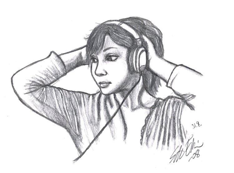 Adel: Headphones by Zeggolisko