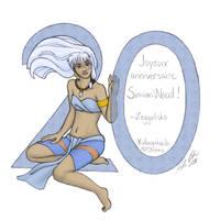 Birthday card for SimianWood by Zeggolisko