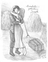 Countryside kiss by Zeggolisko