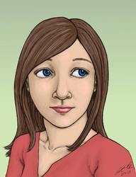 Emily's portrait - colored by Zeggolisko