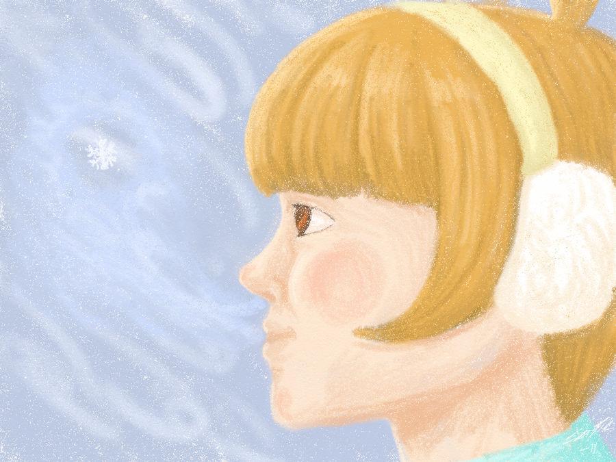 Frost-chan by Zeggolisko