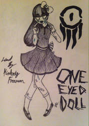 One eyed doll by the-tearful-joker88