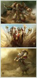 'Warmachine: Legends' 1of4 by OmeN2501