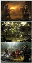 'Warmachine: Legends' 4of4 by OmeN2501