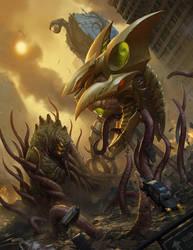 Monsterpocalypse Two by OmeN2501