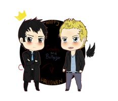 +-+SPN-Happy Halloween+-+ by ShadowDark1