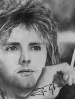 Roger Taylor Autograph by neumii